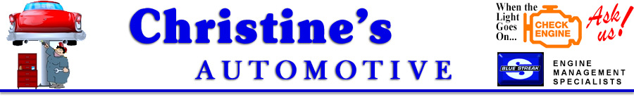 Christines Automotive - Motor Vehicle Inspection Station - Auto Repairs, Oil Changes, Tires, Lights, Car and Truck Batteries